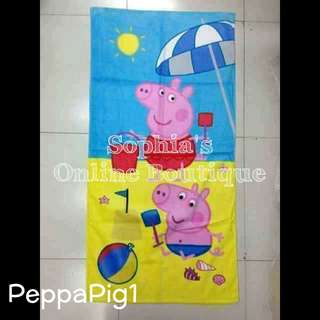 Kids Character Bath Towel - PEPPA PIG #1