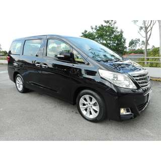 Cheapest Long Term Rental Toyota Alpard 2.4A