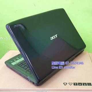 追劇大螢幕 ACER AS5930G T6570 4G 250G 獨顯 DVD 15吋筆電 聖發二手筆電