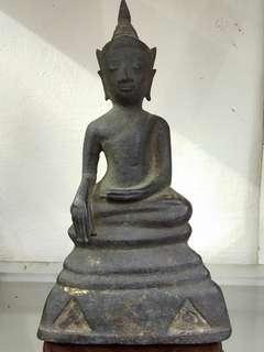 Very old Ayuthaya Phra Chai. Eng Ngan. Top condition and rare.