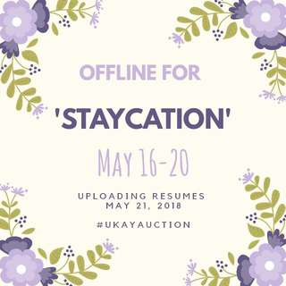 Offline For Staycation