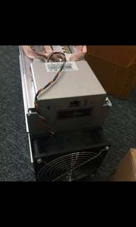 Bitmain antminer A3 new in box inclu PSU not s9 L3 btc ltc eth