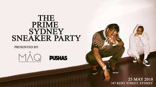 PUSHAS sneaker party