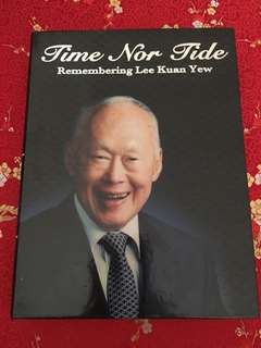 Time nor tide. lee kuan yew dvd.