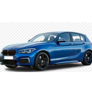 Magnetic sunshade 6 pieces for BMW 1 series 116D
