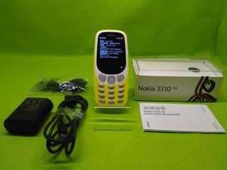 🚚 Nokia3310 3G八成新右上角鏡面有刮傷