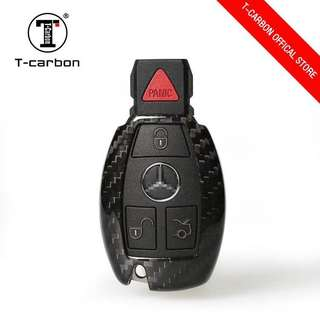 Genuine T-Carbon™ 100% Carbon Fiber Key case / Key Fob / Key protector (Honda / Audi / Mercede Benz / Mazda / BMW / Nissan / Qashqai / Volkswagen / Porsche / GTR / Subaru / Lexus / Land Rover) Ready Stock for collection