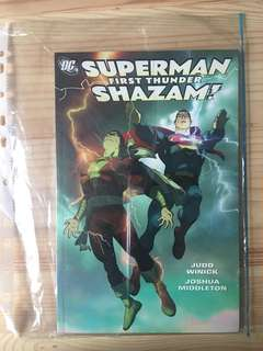Superman Shazam: first thunder