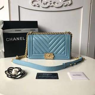 chanel le boy premium boutique quality