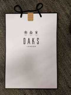 Daks紙袋