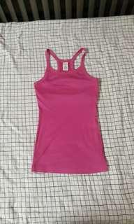 Pink Bodycon Halter Top