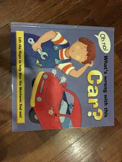 Pre-loved lift the flap book