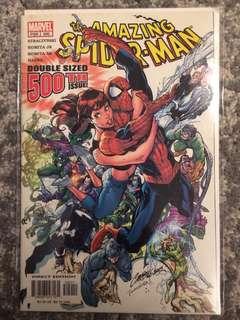 Amazing Spiderman #500