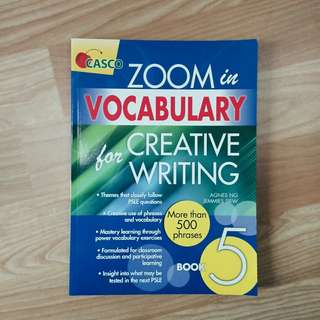 PSLE Vocabulary for Creative Writing - Book 5