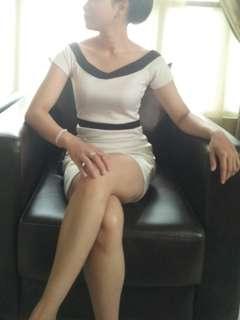Dress white list black