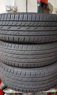 185/55R16 Dunlop Tyre 85% life
