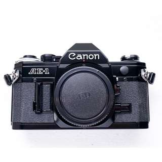 Canon AE-1 Black SLR film camera