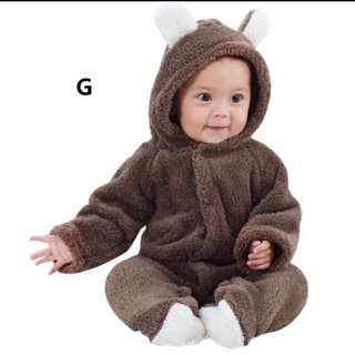 Winter Baby Jumpsuit