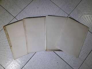1979年地鐵工程文件四大張,香港地下鐵,港鐵,火車,老香港懷舊物品