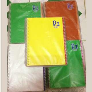 P1 Spiral Notebook