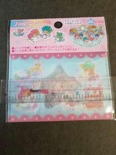 Sanrio雙子星little twins star全新文件夾透明水彩貼紙