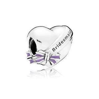 Pandora Best Bridesmaid Charm