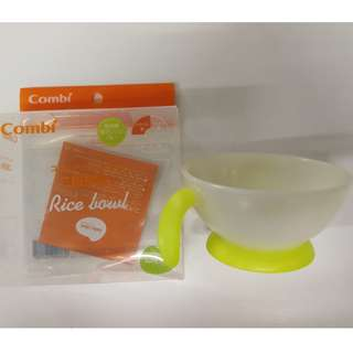 Combi Baby Label First Rice Bowl (Yellow)