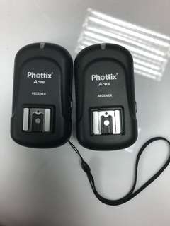 PHOTTIX ARES receiver x 2
