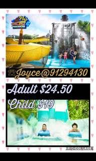 ♥ Adventure Cove WaterPark | 水上探险乐园