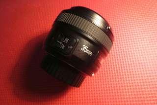 Lensa fix Yongnuo nikon 35mm f2
