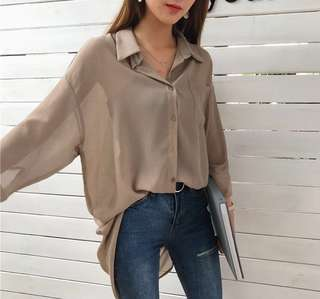 Korean baggy blouse