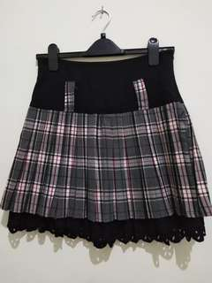 korean flare skirt
