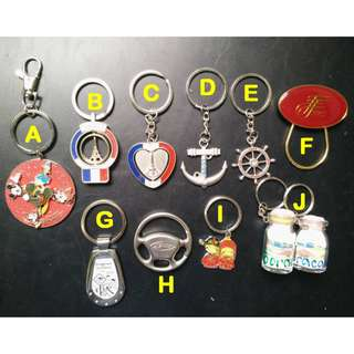 Keychains (Various)