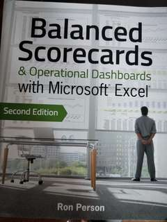 Balanced scorecards & operational dashboards with MS Excel