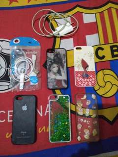 Charger dan casing Iphone 5 / 5s