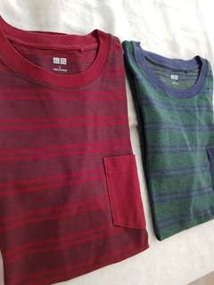 Uniqlo Striped Tee (2)