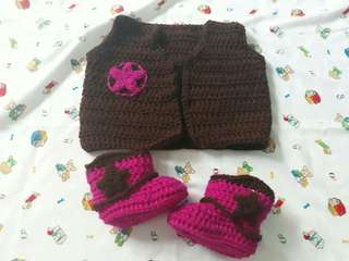 Handmade Crochets 0 to 9 months