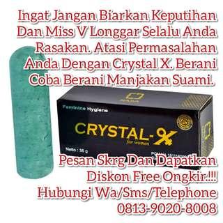 Obat Keputihan Crystal X
