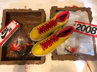 Nike x Michael Lau blazer premium SB men's US8.5 with figures