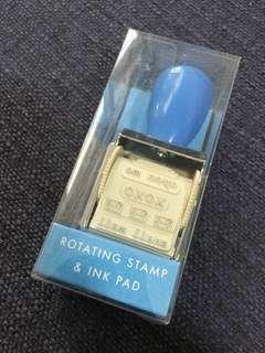 Kikki K Rotating Stamp and Ink Pad