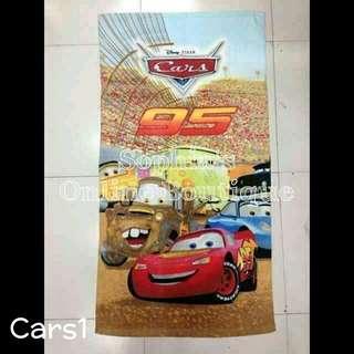 Kids Character Bath Towel - CARS #1