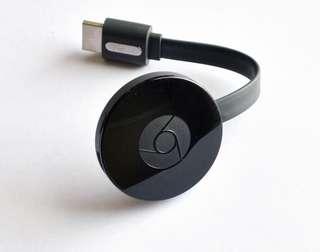 Chromecast (almost new)