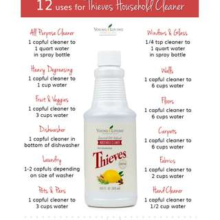 🚚 Young Living Thieves Household Cleaner 426ml