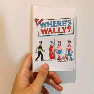 Where's wally 護照套