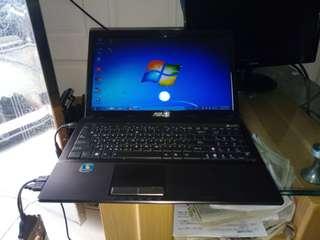 ASUS K53T/雙核獨顯筆電  win7/15.6吋