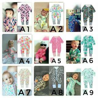 Bonds Inspired Baby Sleepsuit 3pcs RM100