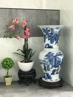 Qing Blue & White porcelain-Please provide name and contact if you interested to view more of my collection. Thanks.