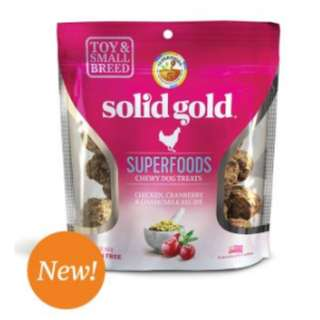 Superfoods Chewy Dog Treats with Chicken