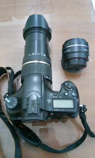 SONY A77 with prime lens (45mm) & 18-200mm Tamron Lense with complete Manual and Box