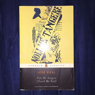 Noli Me Tangere by Jose Rizal (English)